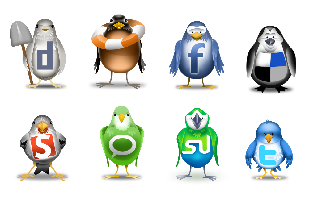 redes-sociales animales